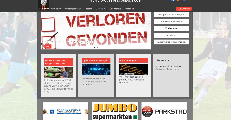 foto website V.V. Schaesberg
